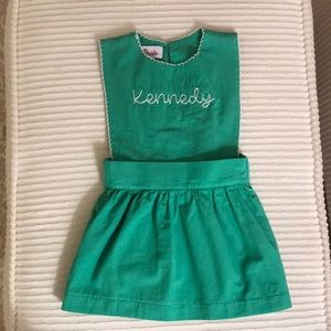 Other - Kennedy green apron dress